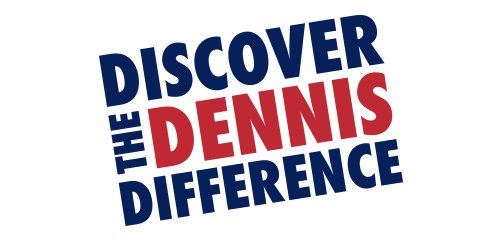 discover dennis difference logo