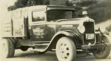 old dennis delivery truck