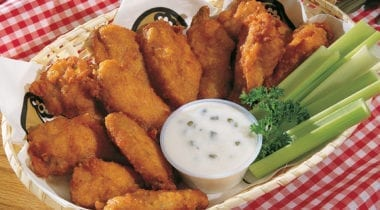 """Wing ditties"" chicken wings"