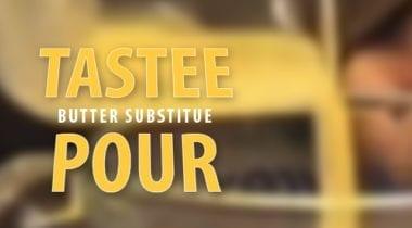 tastee pour logo