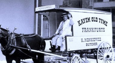 vintage kayem delivery carriage