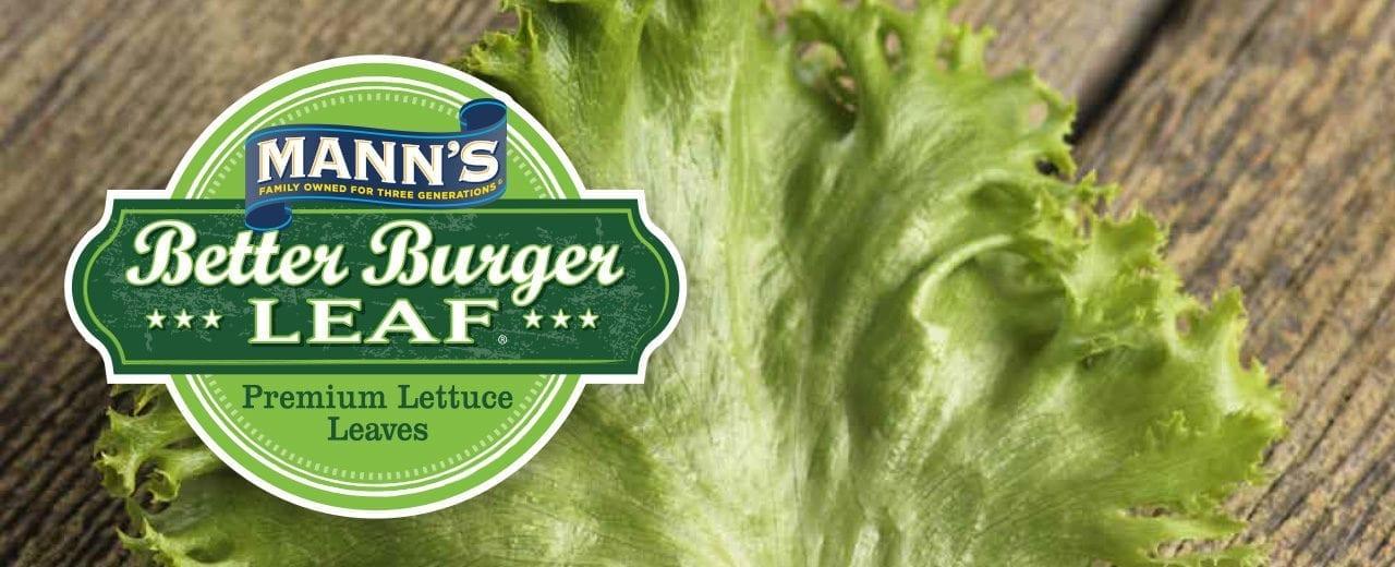 Mann S Better Burger Leaf Dennis Paper Amp Food Service