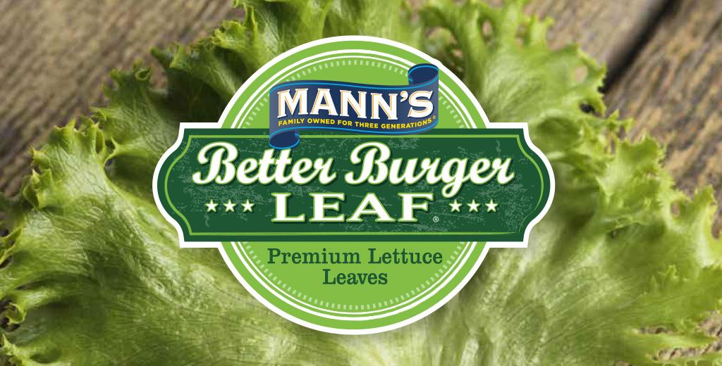 manns better burger leaf dennis paper amp food service