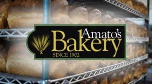 amatos bakery logo graphic