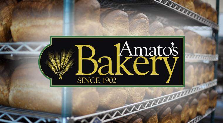 amatos bakery logo graphic