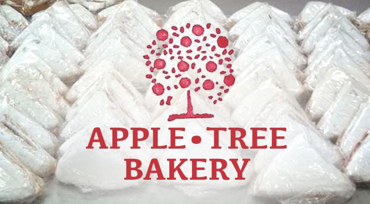 apple tree bakery logo graphic