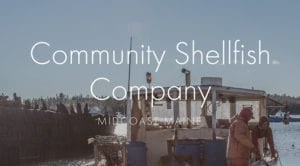 community shelfish logo graphic