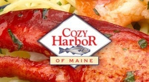 cozy harbor logo graphic