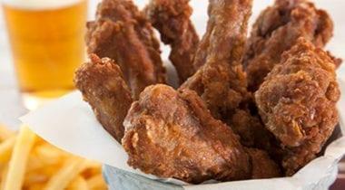 fried duck wings