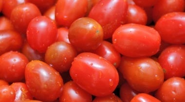 red grape tomatoes, cherry tomatoes