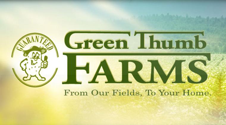 green thumb farms logo graphic
