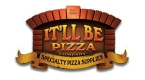 it'll be pizza logo graphic