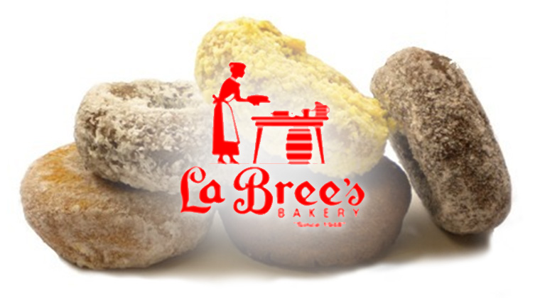 labrees bakery logo graphic