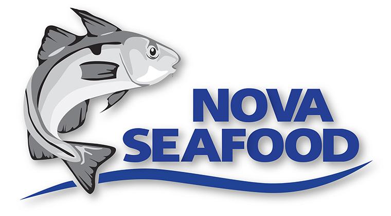 nova seafood logo graphic