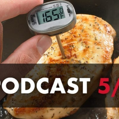 dennis knows food podcast graphic