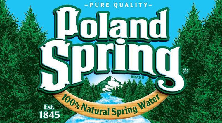poland springs logo graphic