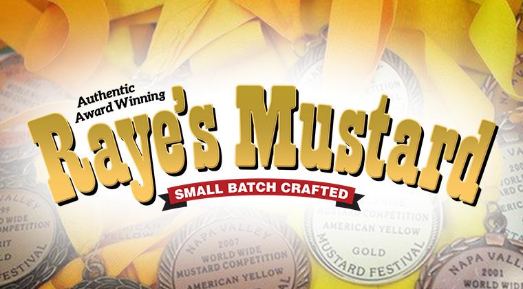 rayes mustard logo graphic