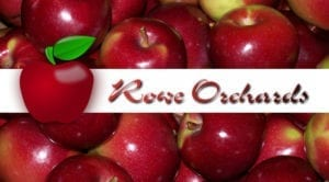 rowe orchard logo graphic