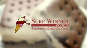 sure winner foods logo graphic