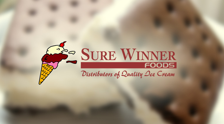 sure winner foods logo graphic