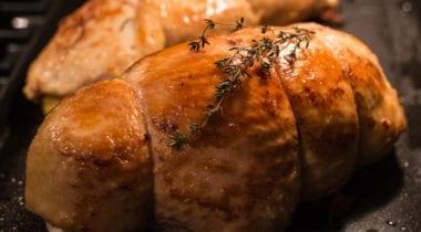 baked stuff turkey breast