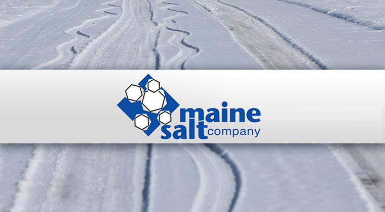 maine salt company logo graphic