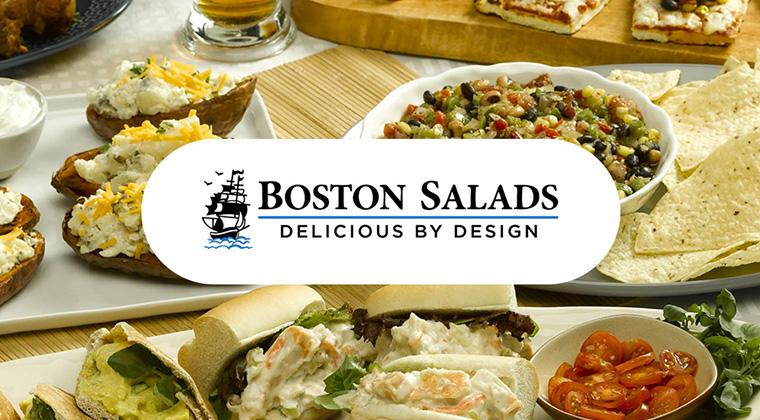 boston salads logo graphic