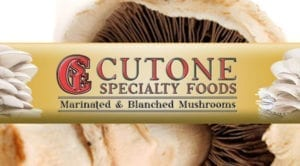 cutone mushrooms logo graphic