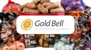 gold bell logo graphic
