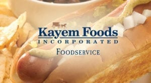 kayem foods logo graphic