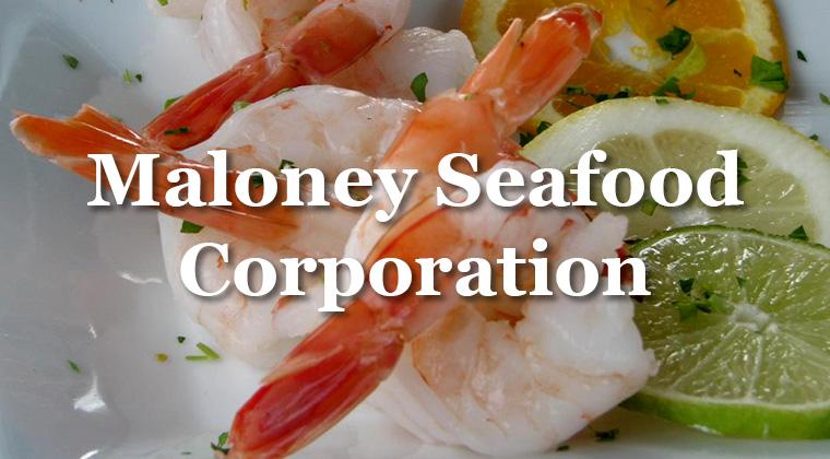 maloney seafood logo graphic