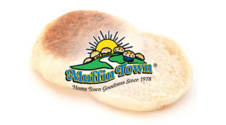 muffin town logo graphic