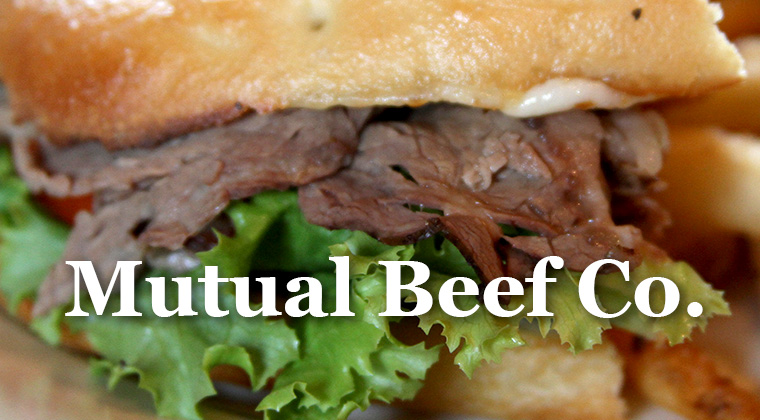 mutual beef logo graphic