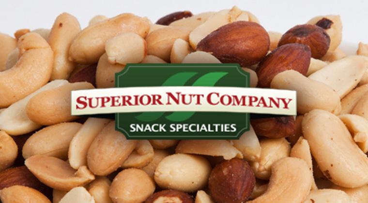 superior nut logo graphic