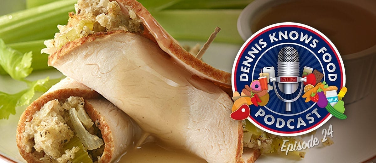 turkey roll ups podcast thumbnail