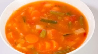 red soup, vegetable soup