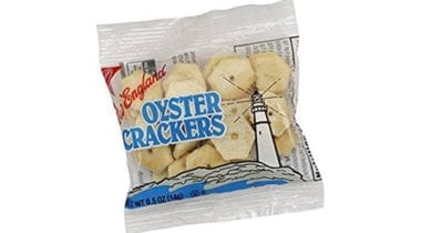 oster crackers in a bag