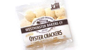 westminster oyster crackers in w bag, single portion of soup crakers