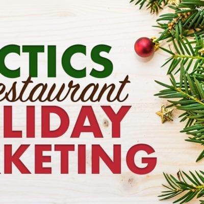"""7 holiday marketing tactics"" text banner"