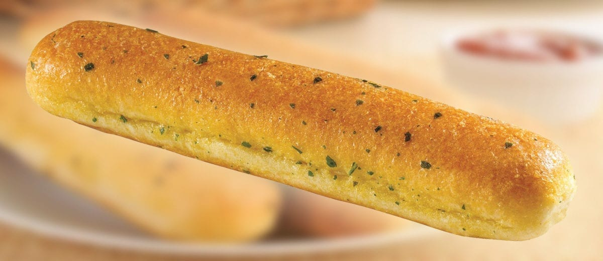 flowers garlic breadstick