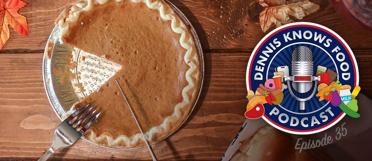 pumpkin pie podcast thumbnail