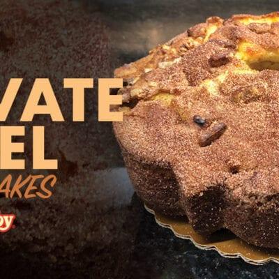 Bake N' Joy Coffee Cake Private Label banner