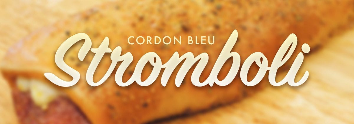 cordon bleu stromboli graphic