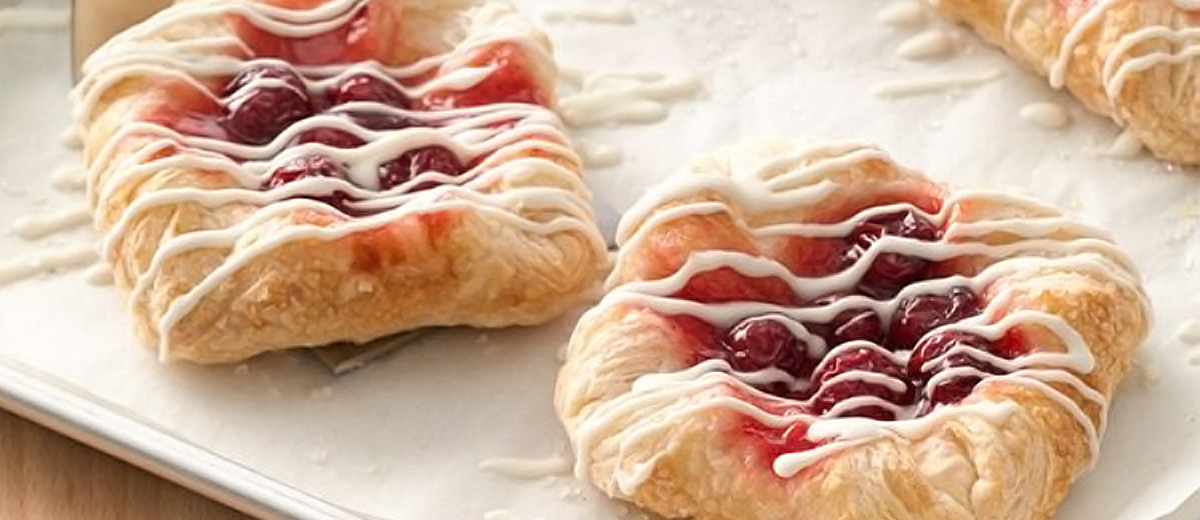 puff pastry fruit danish