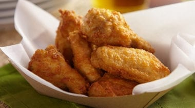 pierce chicken wings