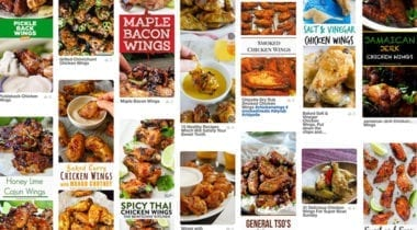 chicken wings pinterest board