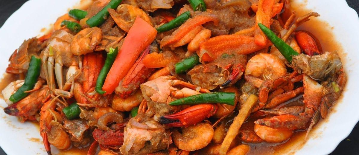 shrimp seafood gumbo