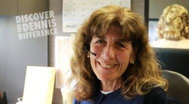 Woman smiling, Kathy Fitzpatrick