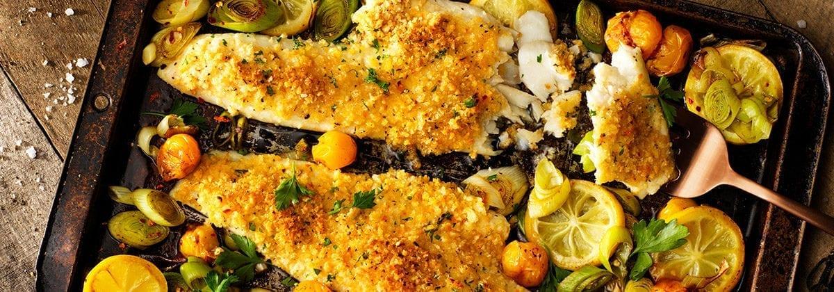 oceans horizons breaded haddock dish