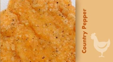 country pepper  breaded chicken